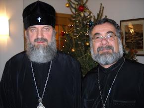 Foto insieme al Metropolita Vladika  Innokentij