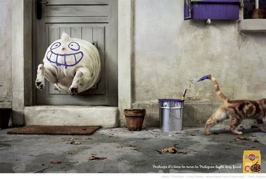 dog stucked 2 Award Winning Images of Fun Advertising Campaigns