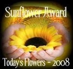 "AN AWARD FROM ""TODAY&#39;S FLOWERS"""