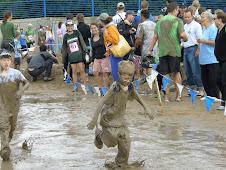 A muddy mess!