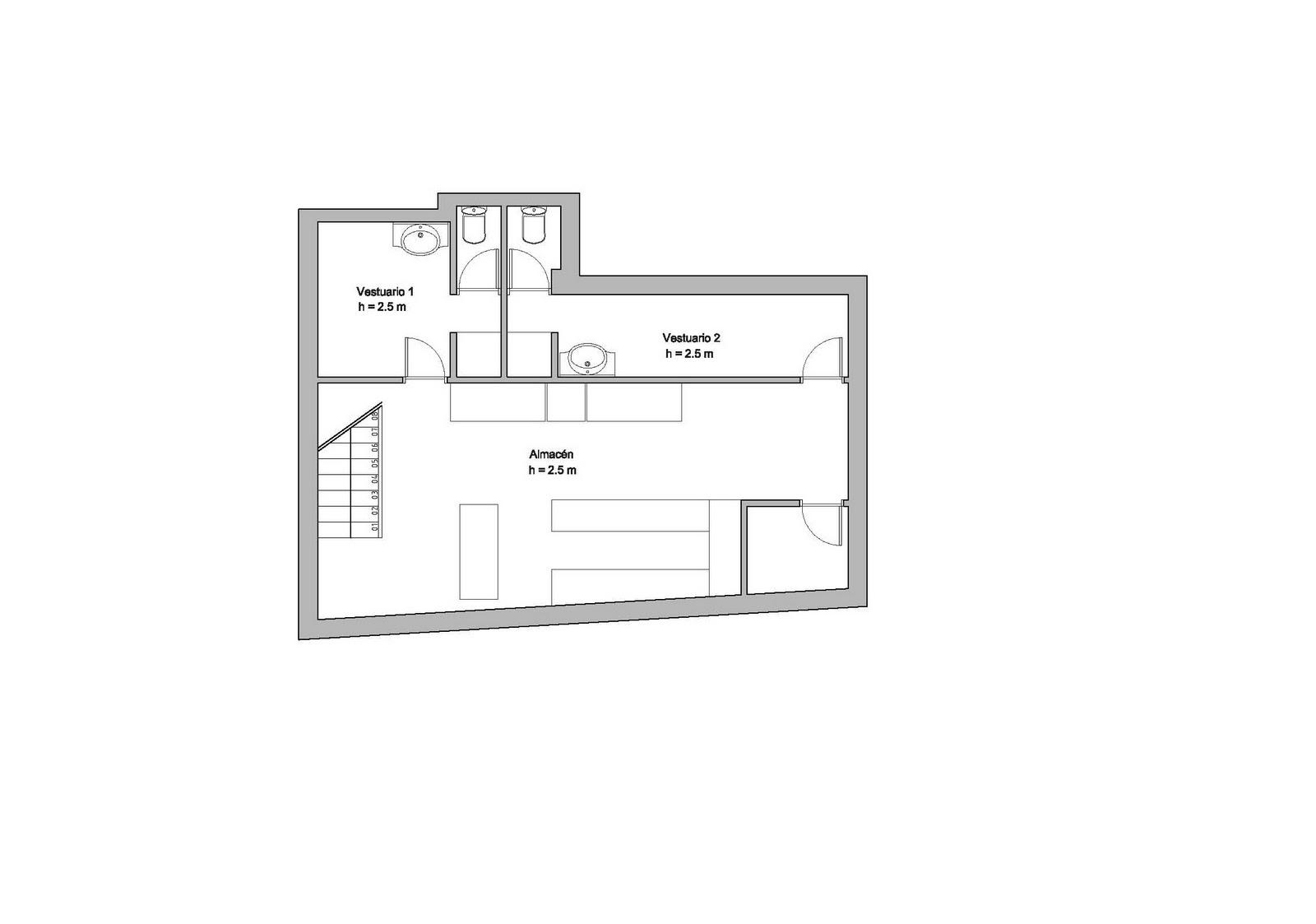 Arquitectira for Plano restaurante