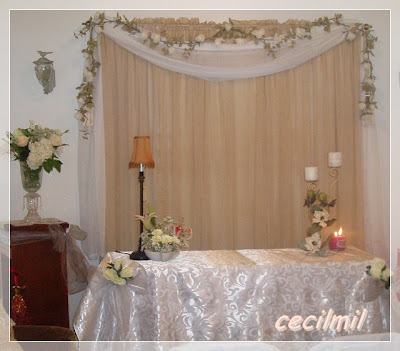 Mi vida en usa decoracion de una boda civil en usa for Decoracion ceremonia civil