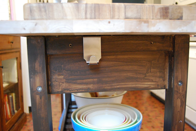 Depending on how long you leave the stain on, the darker the finish is. So  you have to be fairly consistent to get a piece of furniture all one color  of ...