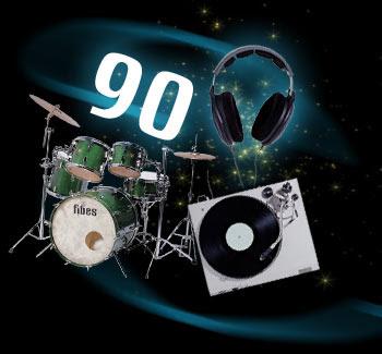 Top chansons années 90