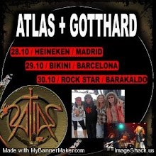 Gotthard y Atlas en Madrid