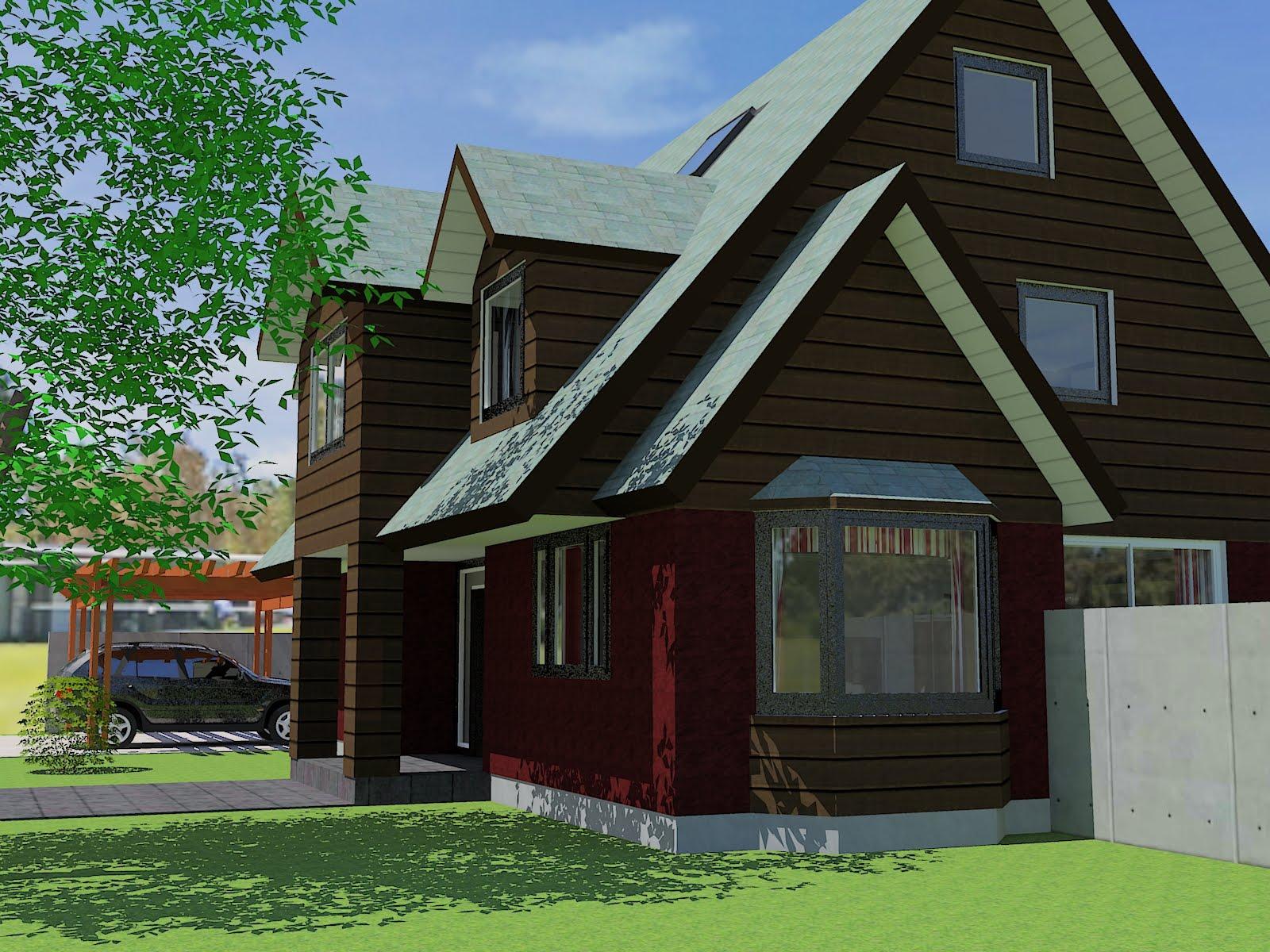 Casas planos edificios y renders fotos for Casas casas