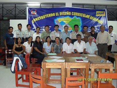 Profesores asistentes al Taller de Construcción del DCR