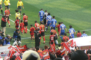 Seoul and Suwon take the field