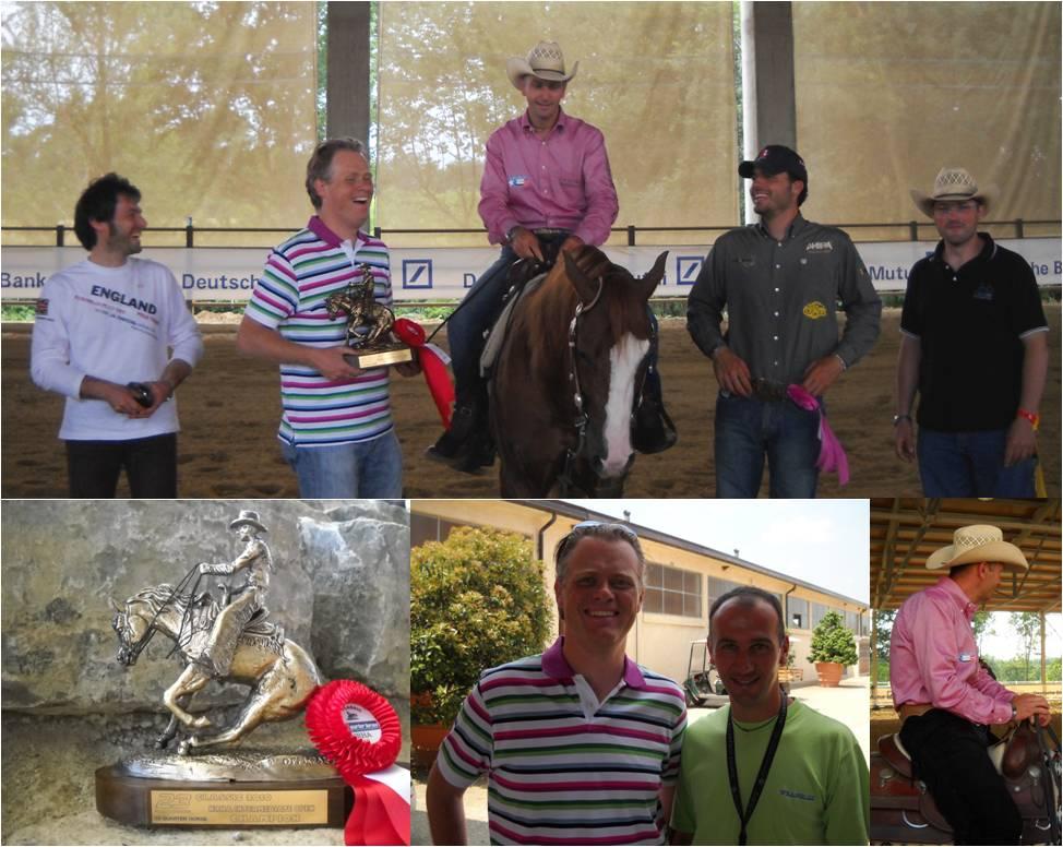 Mirko piazzi reining horses giugno 2010 for Rimodella a forma di ranch della casa
