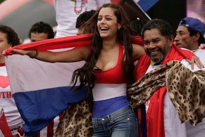 Larissa Riquelme Paraguay Model