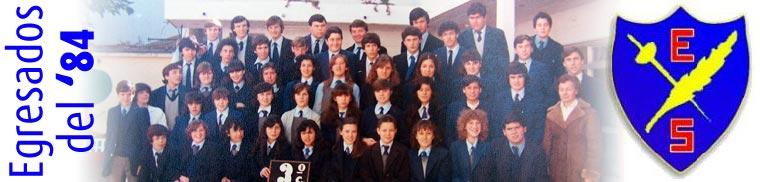 Egresados 1984 - Escuela Sarmiento (Padua)