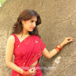 Mallu Girl In Red Saree