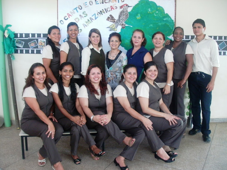 Equipe de educadores da eco escola