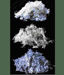 Os três principais tipos de amianto que foram usadas comercialmente são: