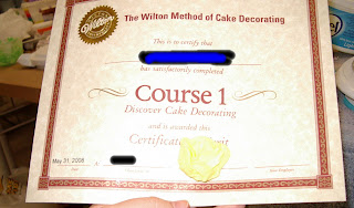 Cake Decorating Certificate Program : Equal Opportunity Kitchen: She Said - She Said - Cake ...
