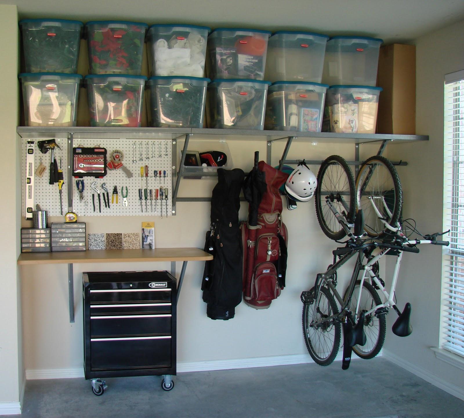 Идеи для гаража: улучшаем интерьер своими руками.