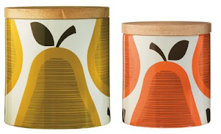 Orla Kiely Pear Canisters at Target