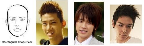 Asian Guy Hairstyles: Choosing the right hairstyle: face shape