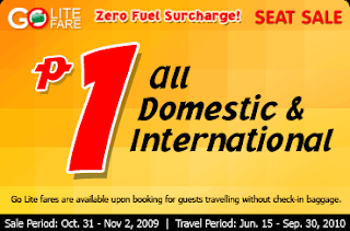 The promo is only available from today, October 31 to November 2, 2009