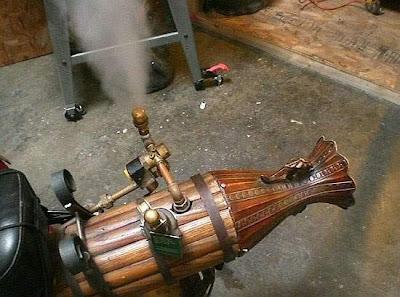 Steampunk Motorbike