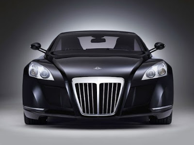 Maybach Exelero Logo. Maybach Exelero - supercar for
