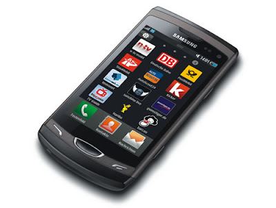 Samsung Wave II with 3.7-inch Super-Clear LCD