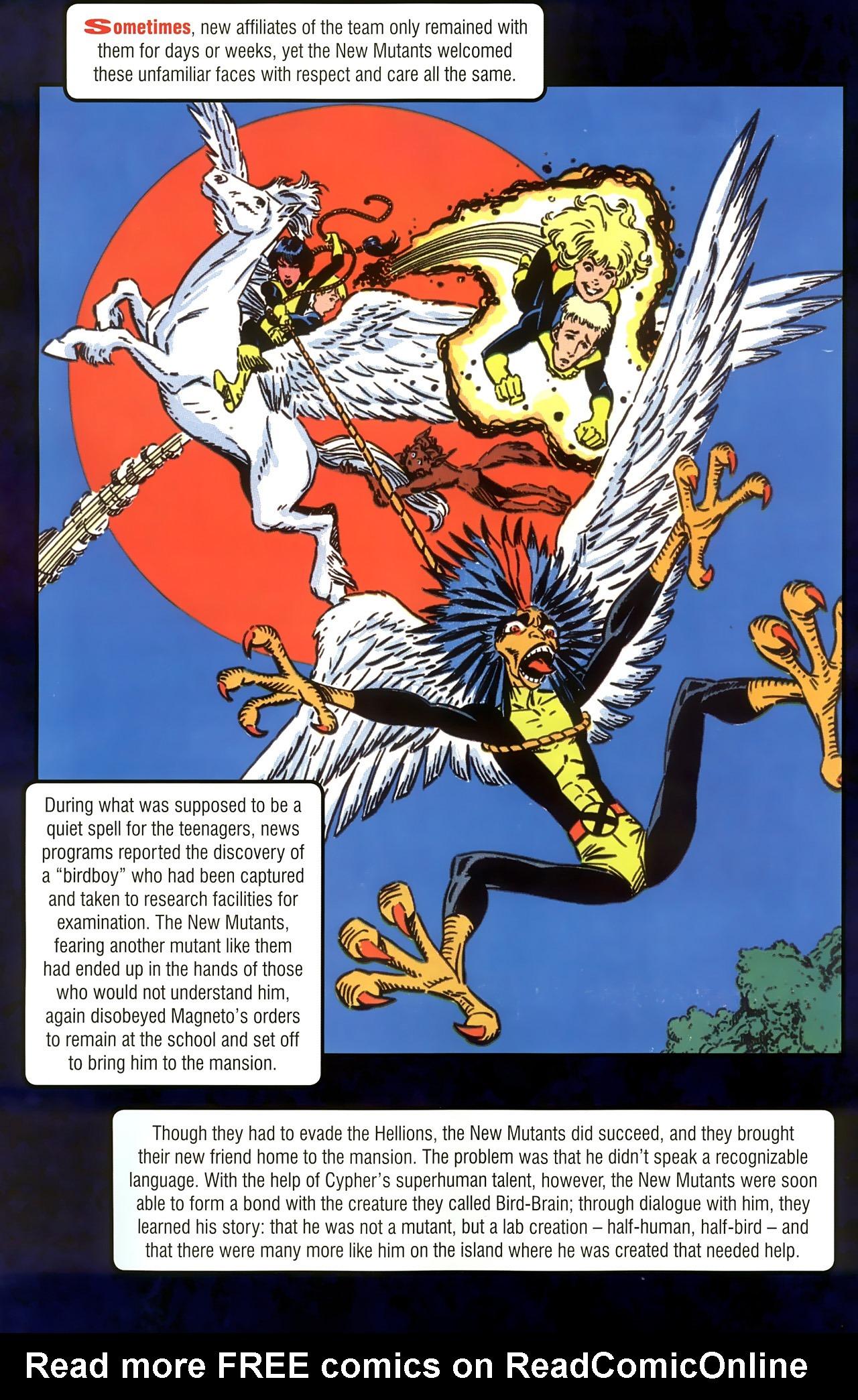 Read online New Mutants Saga comic -  Issue # Full - 26