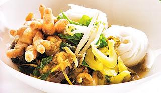 ขนมจีนน้ำยาแกงป่าปลาดุก
