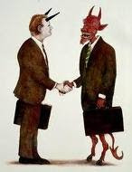 Agora, advogando pro Capeta, porque o Diabo não queria pagar honorários...