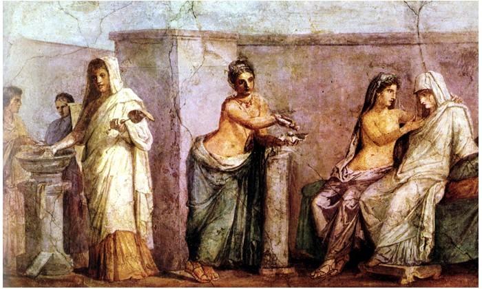 Matrimonio Romano En La Antiguedad : Tudo sobre hca pintura romana