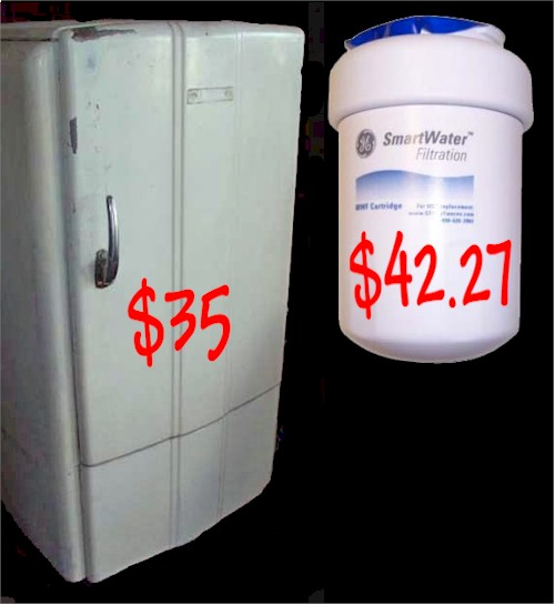 ge water sell