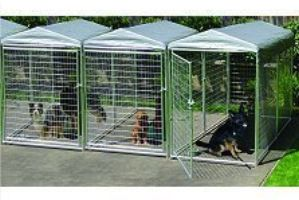 there is a wide variety of styles and sizes for both modular and portable dog kennels be sure to research different types of outdoor dog kennels