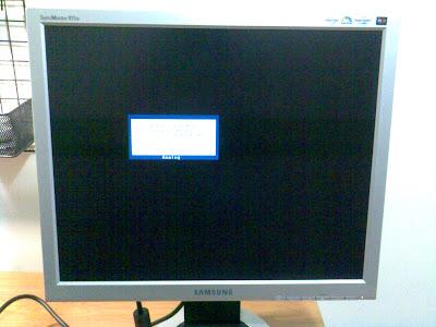 Samsung 913B 畫面出現問題,準備送修