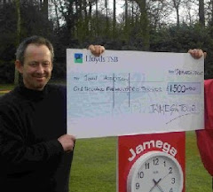 Winning a Jamega Event at Frilford Heath