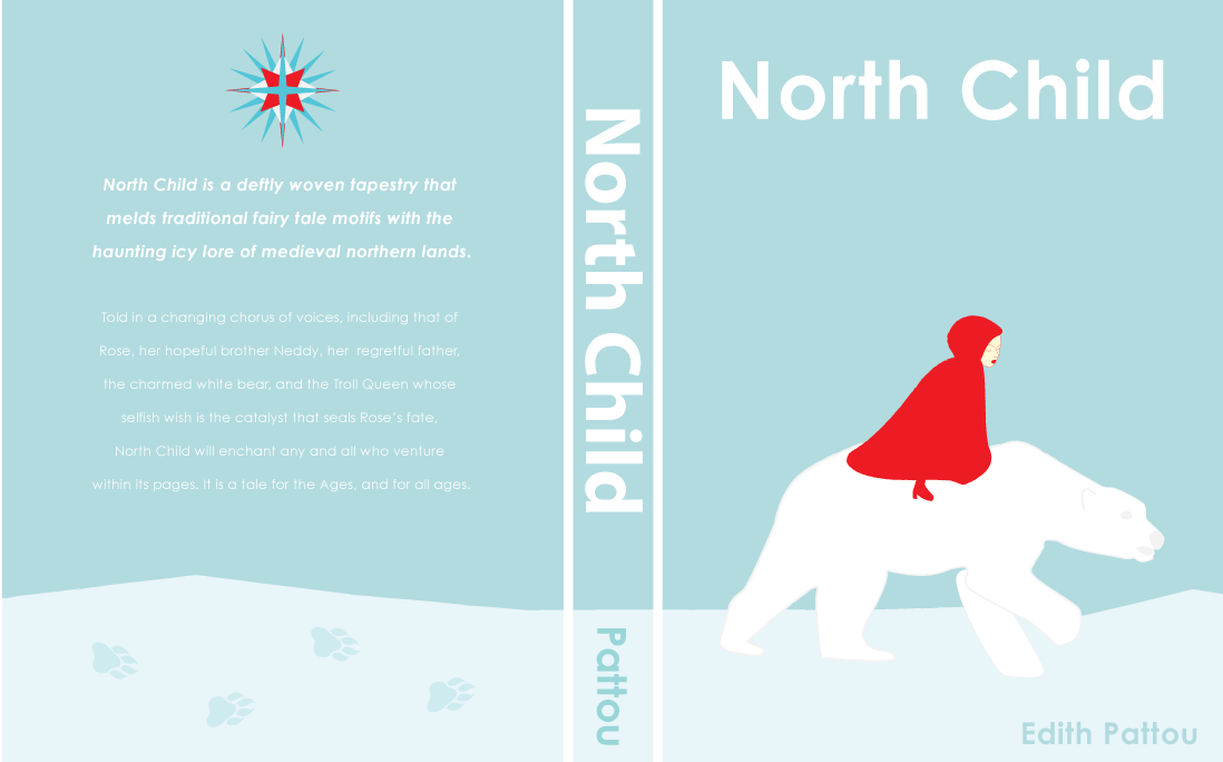 Book Cover For Child : Typography north child book cover