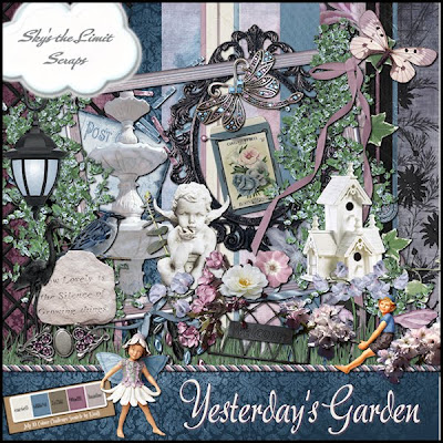 Yesterdays Garden Freebie by Skys the limit