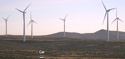 wind generators at wild horse, WA