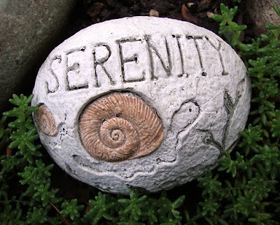 serenity stone, 3 inch diameter