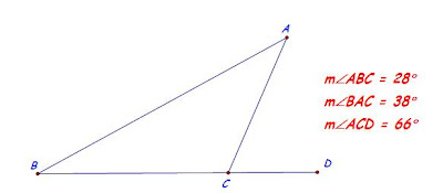 Exterior Angle Property Of A Triangle Figures Speak Mathematics