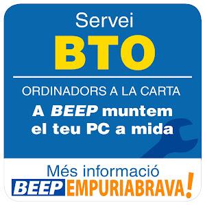 SERVEI BTO. Configura com vulguis el teu PC, només a BEEP Empuriabrava.