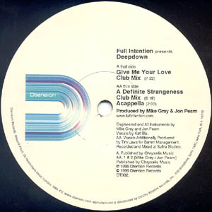 Classic house music full intention prersents deep down for Classic uk house music