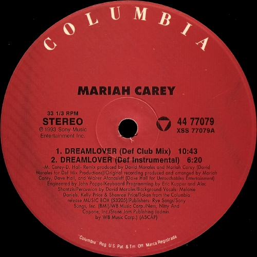 Classic house music mariah carey dreamlover def club mix for Classic house music mix