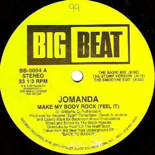 Classic house music jomanda make my body rock feel it for Classic house beats