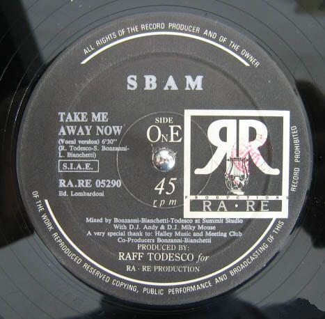 Classic house music s bam take me away now ra re 1990 for Classic uk house music