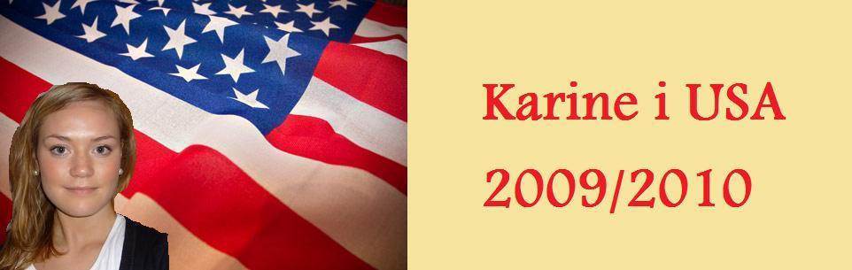 Karine i USA