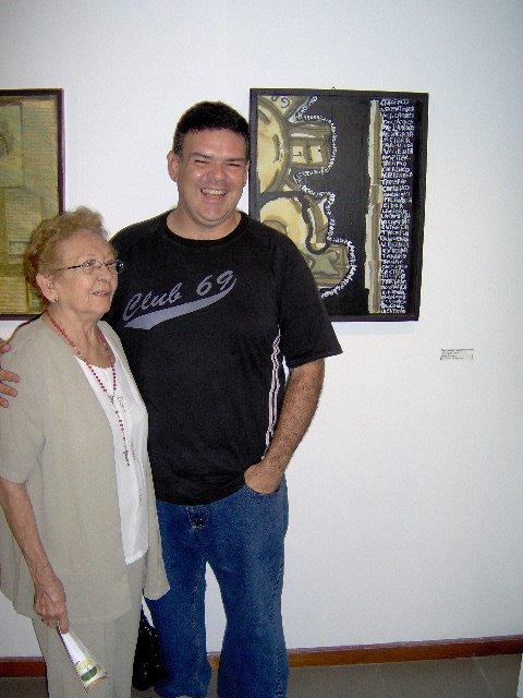 Elena de Troconis y Jose Luis Troconis B.