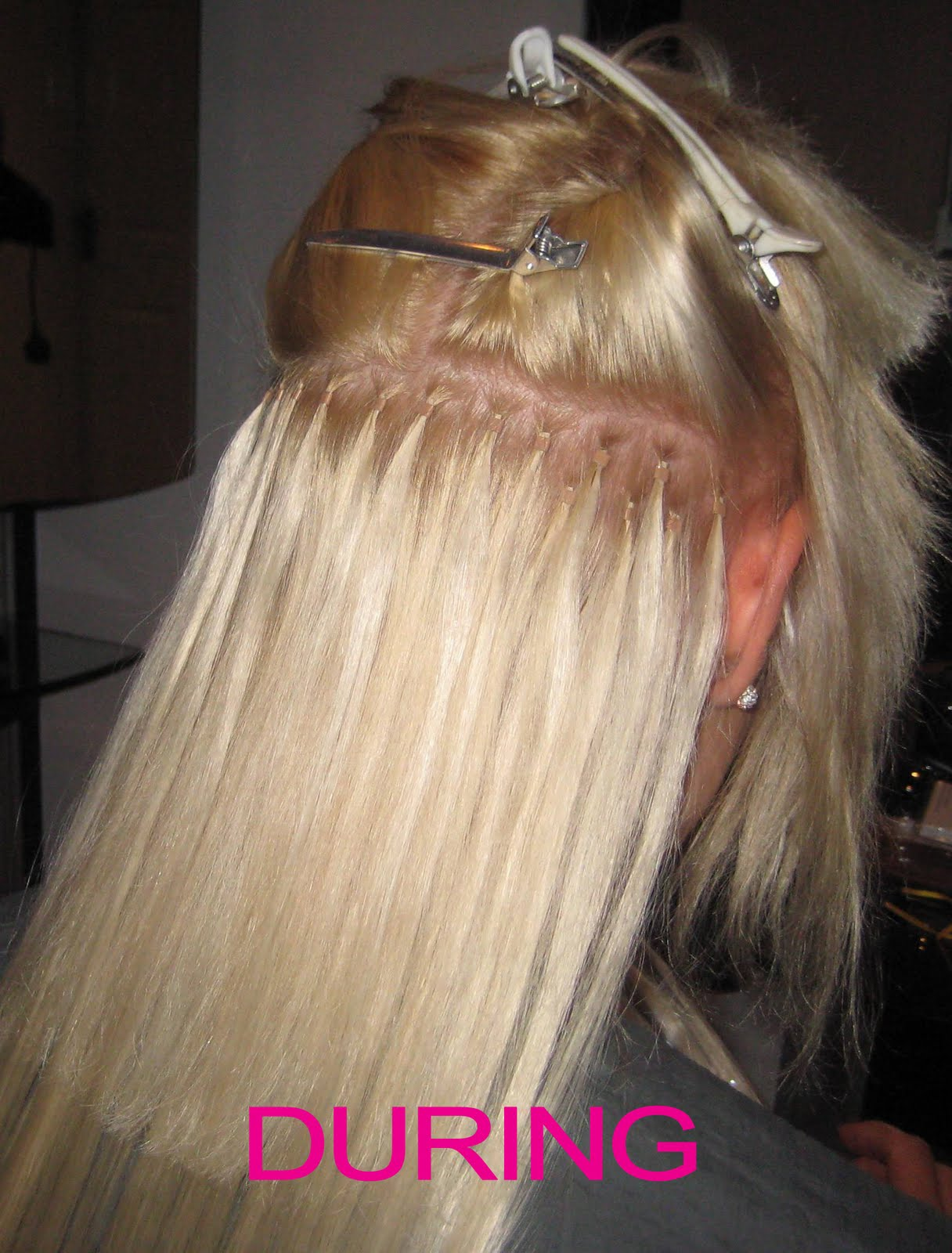 Micro-ring Hair Extensions from £260 (including cost of hair)