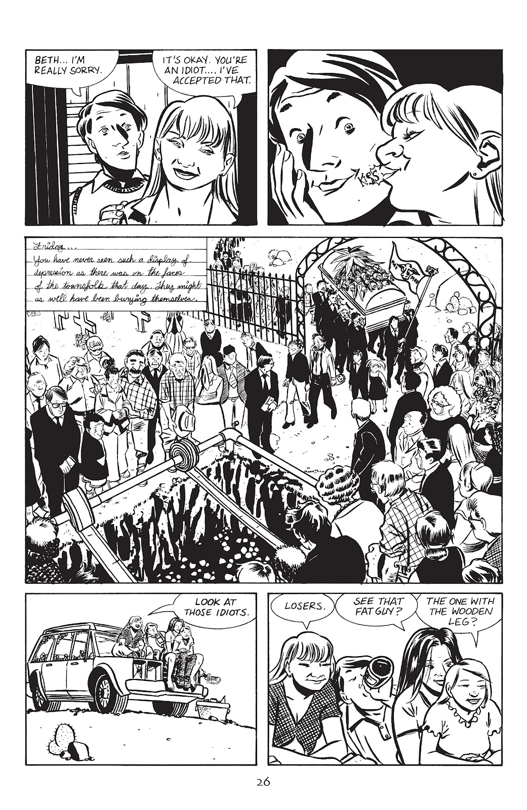 Stray Bullets Issue #13 #13 - English 28
