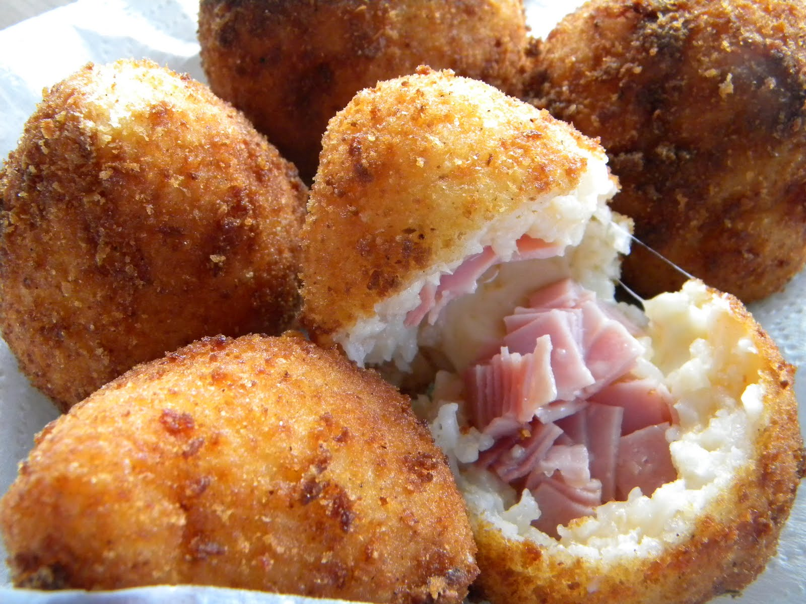 Prosciutto Arancini Recipes — Dishmaps
