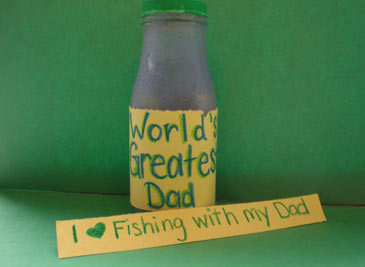 Dad Trophy Craft From Kids